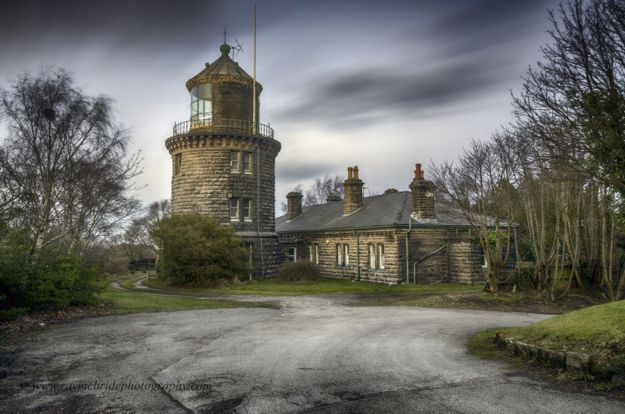 Bidston Lighthouse, January 2015. Photo courtesy of Raymond McBride.