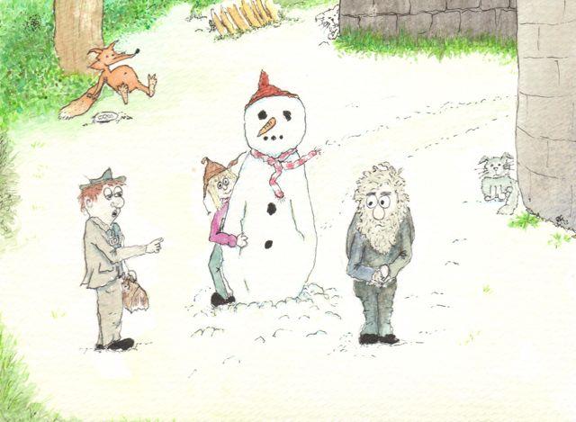 Bidston Lighthouse Christmas Card 2012