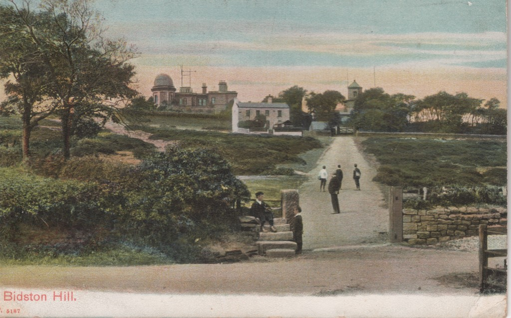 The Observatory, Lighthouse and Braehead Cottage from Boundary Road, postmarked 1909.