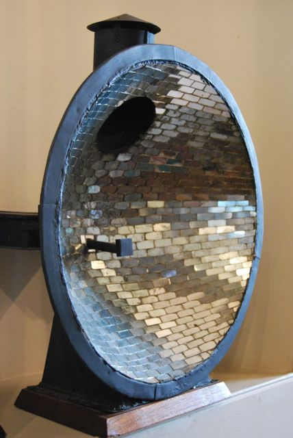 18th century catoptric reflector, in the Trinity House collection.