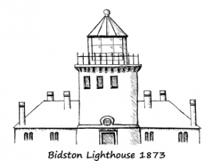 Bidston Lighthouse Passport Stamp