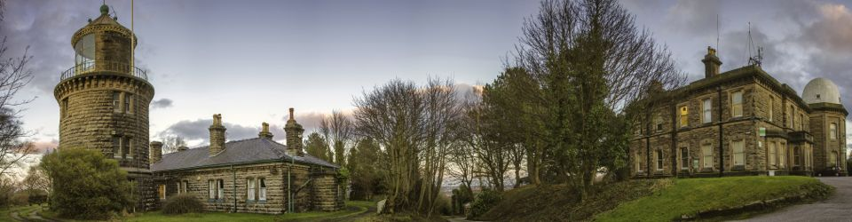 Bidston Lighthouse and Observatory, panorama by Ray McBride
