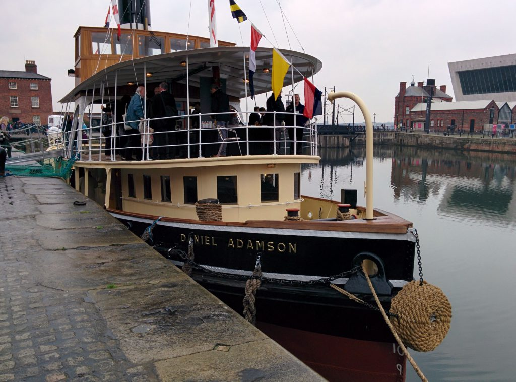 Reconnections Conference aboard the Daniel Adamson, 11 May 2016