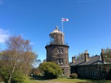 Bidston Lighthouse on St George's Day, 2016