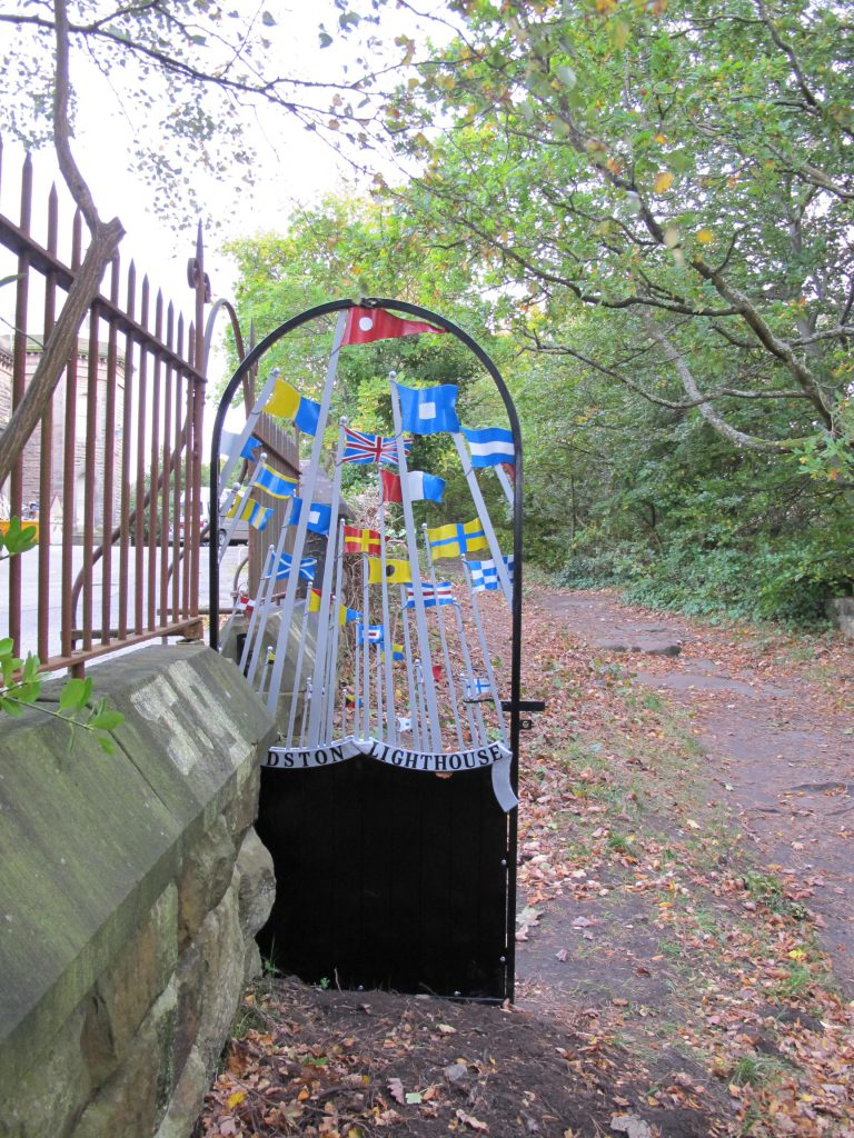 New gate onto Bidston Hill
