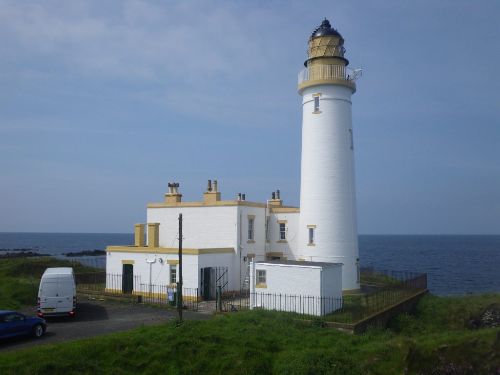 Turnberry Lighthouse, photo courtesy NLB